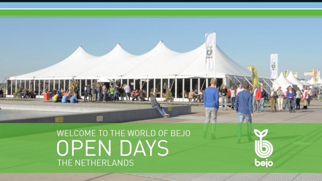 bejo open days opendag beurs beurzen logo
