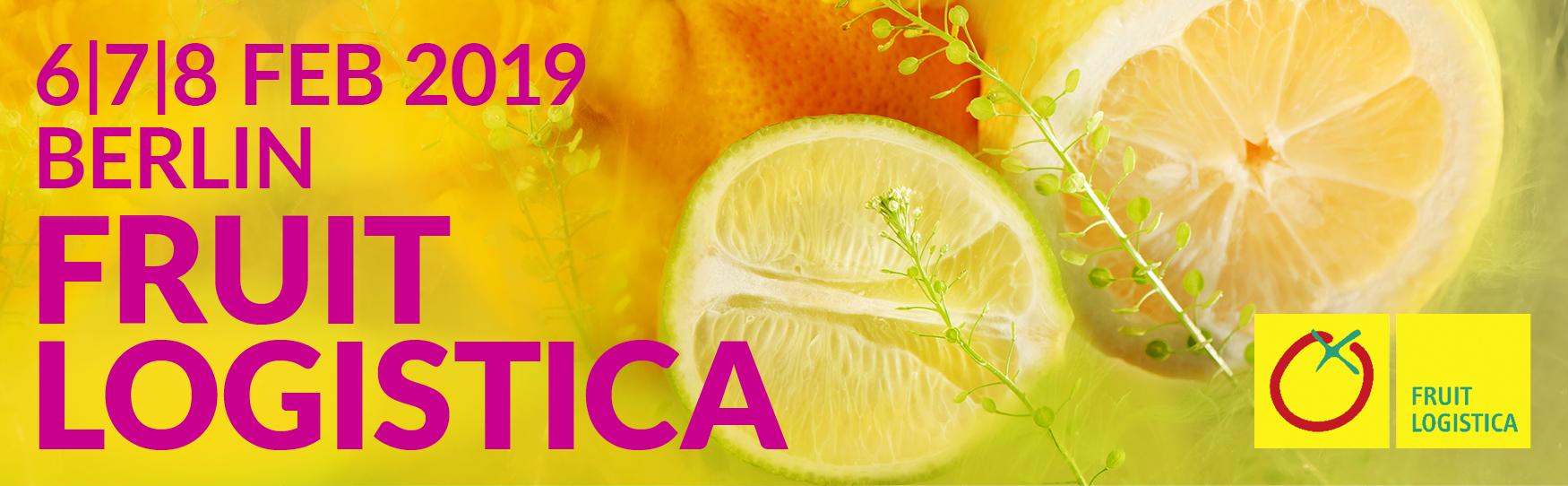 beurs beurzen fruit logistica fruitlogistica 2019 berlin berlijn logo