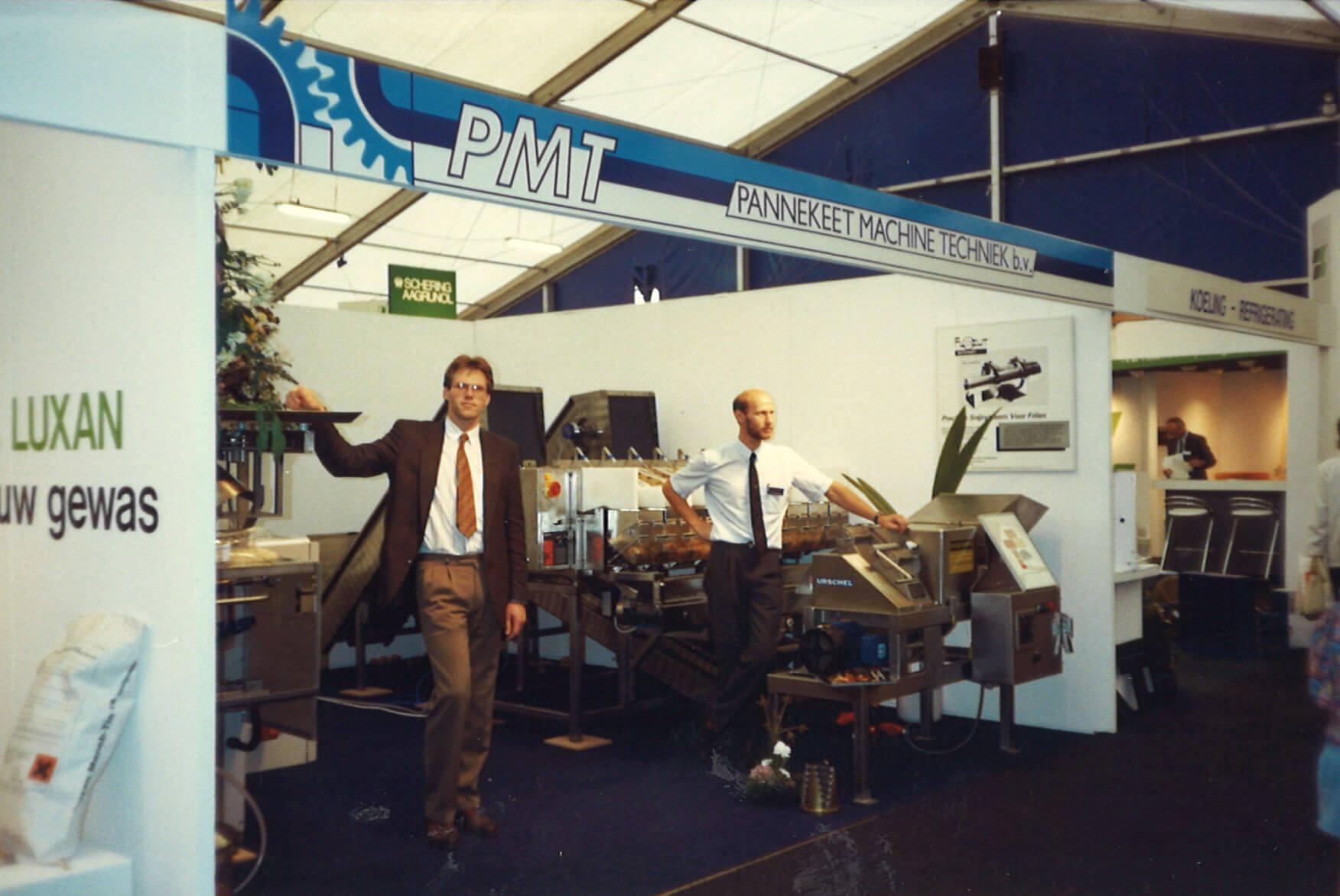 Piet Pannekeet op de AGF in Ahoy Rotterdam 1995