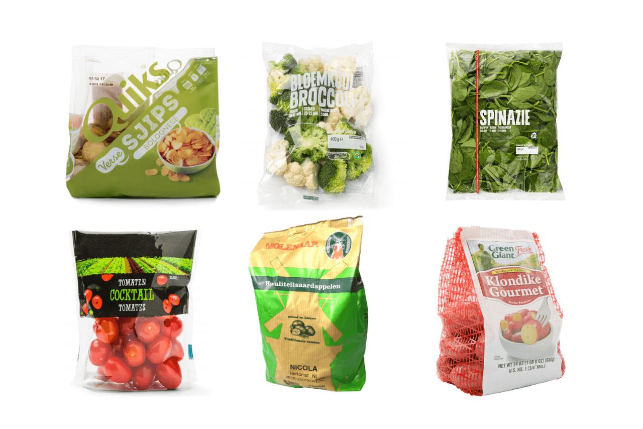 verpakkingsvormen verpakking
