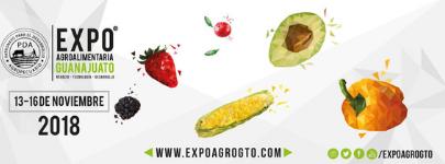 Expo AgroAlimentaria Guanajuato 2018 logo