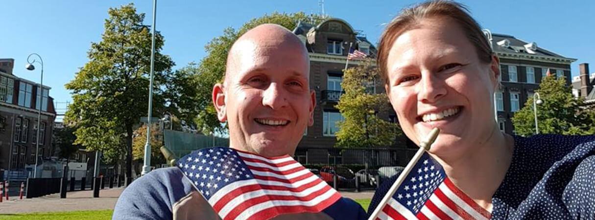 Sandra Pannekeet en Joost Somford naar Amerika voor familiebedrijf JASA