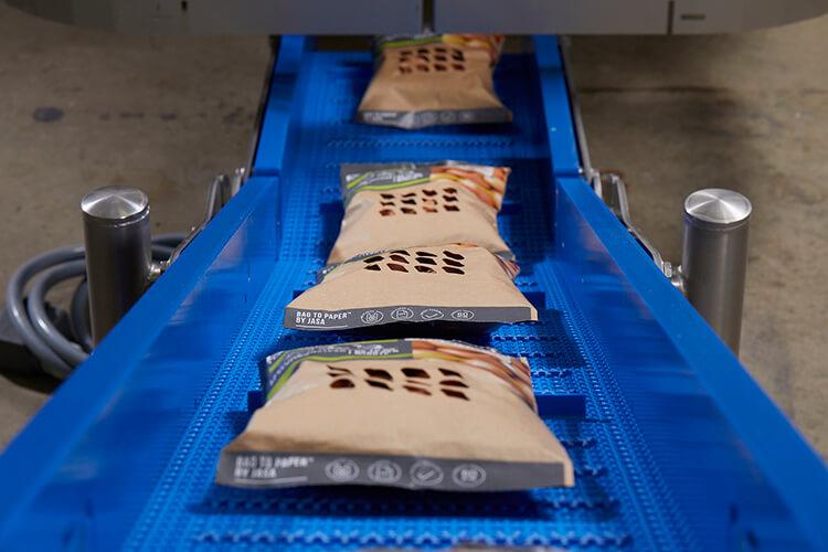 duurzaam verpakken JASA's Bag-2-Paper™