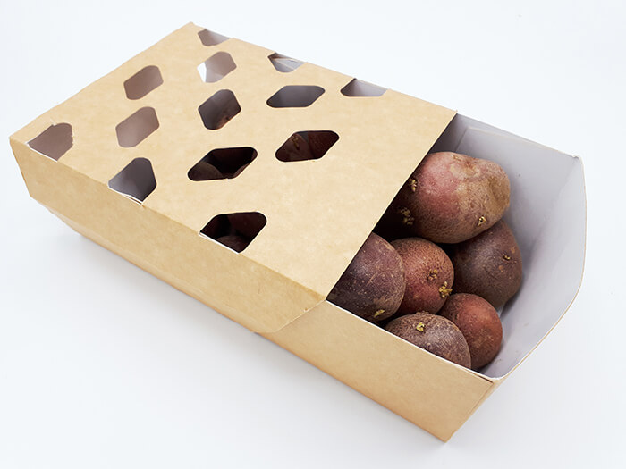 duurzaam aardappelen verpakken