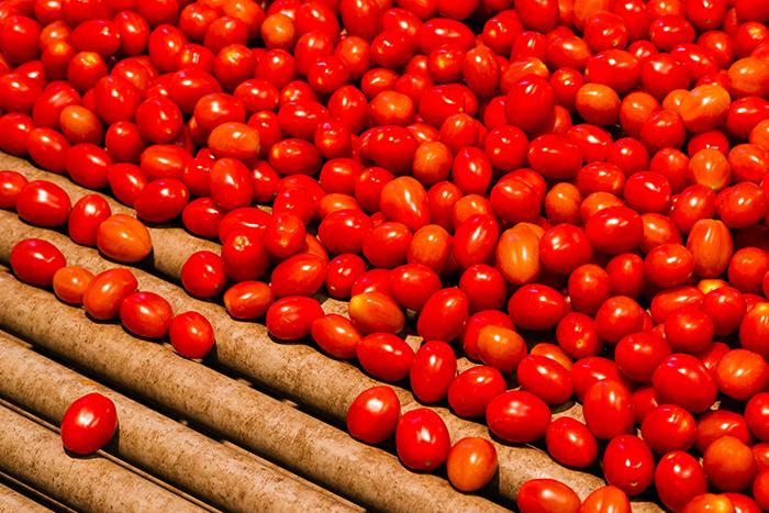 cherry tomaten, tomaten verpakken
