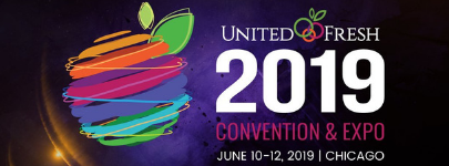 United Fresh 2019 logo