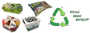 Umweltfreundlichen Verpackungen