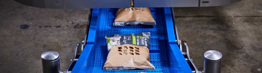 VFFS machine duurzame verpakking