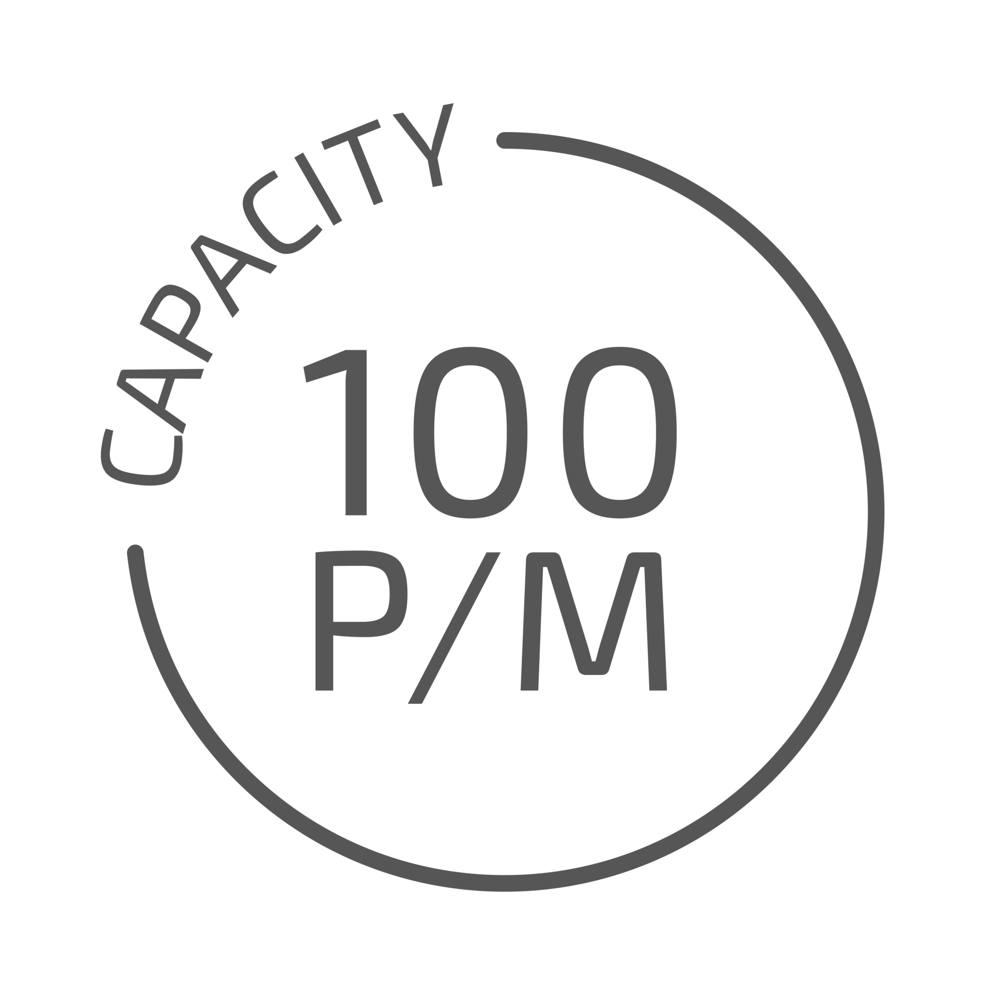 JASA Capacity 100 icoon
