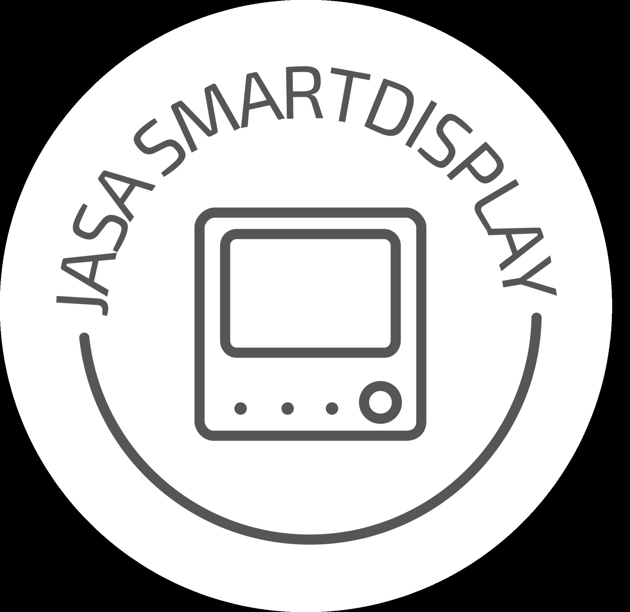 JASA Smart Display icoon Nieuw