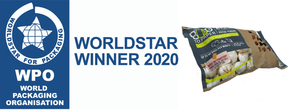 Winner Worldstar Packaging Award 2020