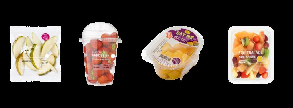 Fruit verpakkingen