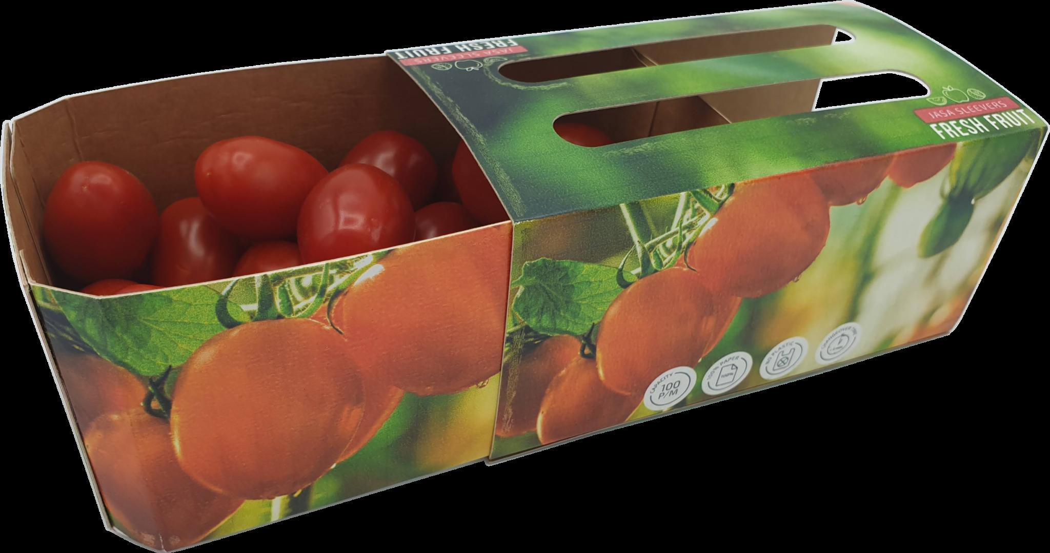 Tomaten doos verpakking