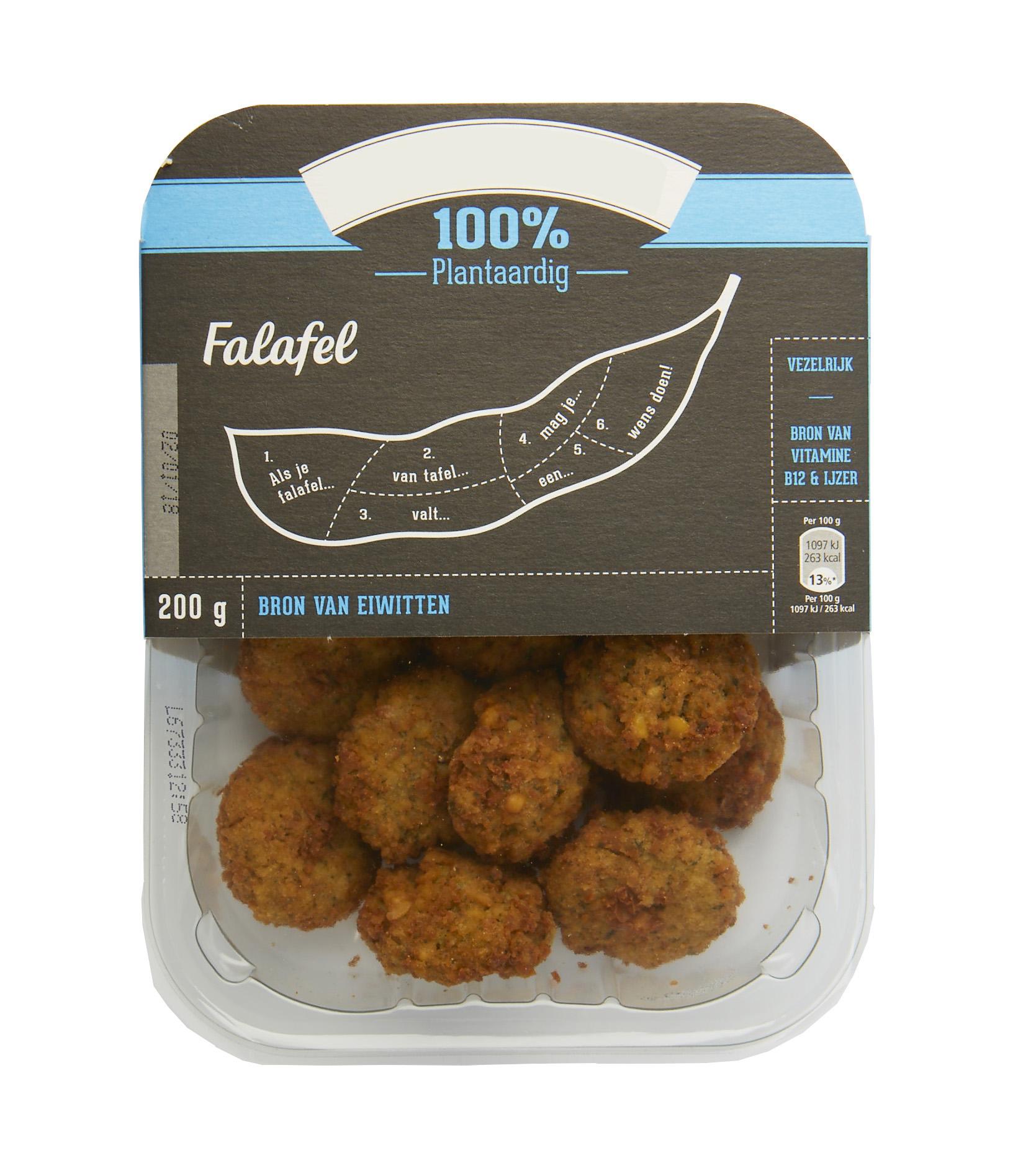 Falafel verpakking