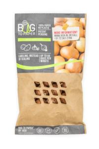 Bag 2 paper uien verpakking