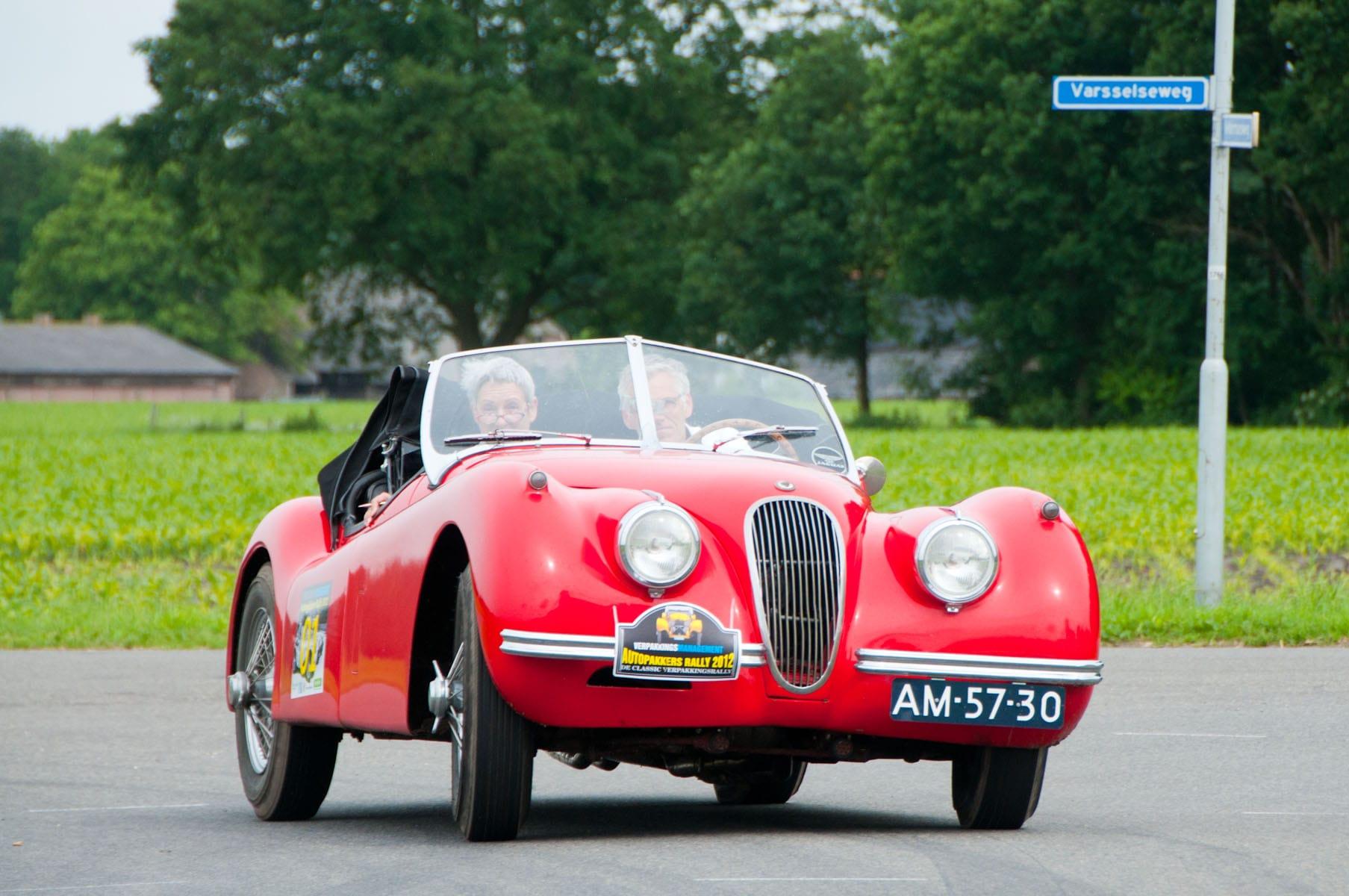 Piet rode auto