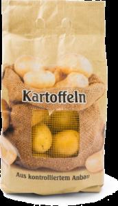 Aardappel verpakking