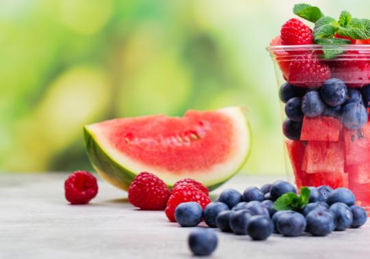 Fruit verpakken