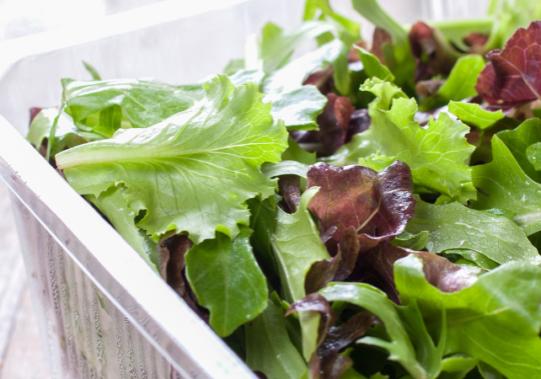 Salade verpakkingen