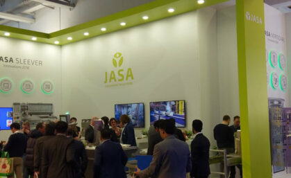 JASA in 2018: innoveren en internationaliseren met de sleever en schalen